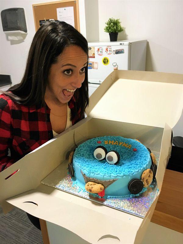 עוגת עוגי מעוצבת