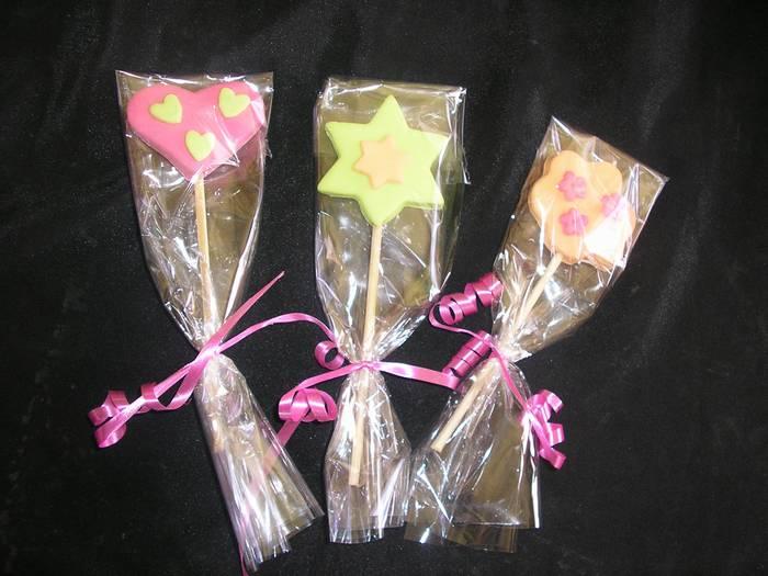 סוכריות מקושטות ליום הולדת