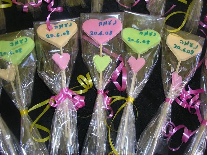 סוכריות עם הקדשה אישית ליום הולדת