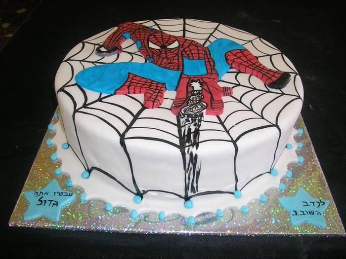 ספיידרמן עוגת יומולדת בנים