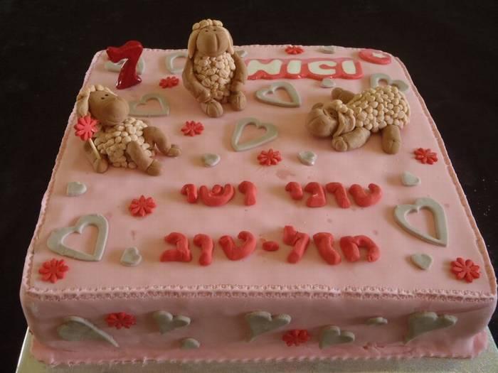 עוגה יום הולדת הכיבשה ניקי