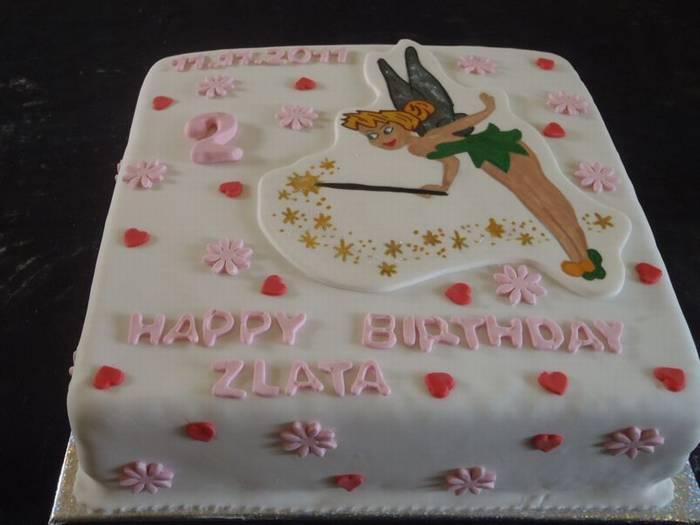 עוגה ליום הולדת טינקרבל