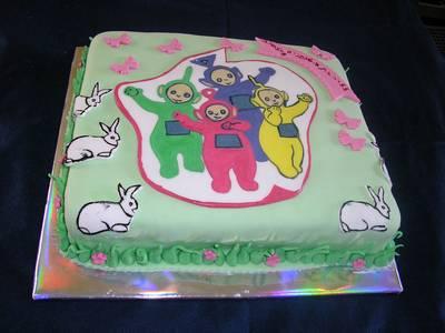 עוגה ליום הולדת טלטביז
