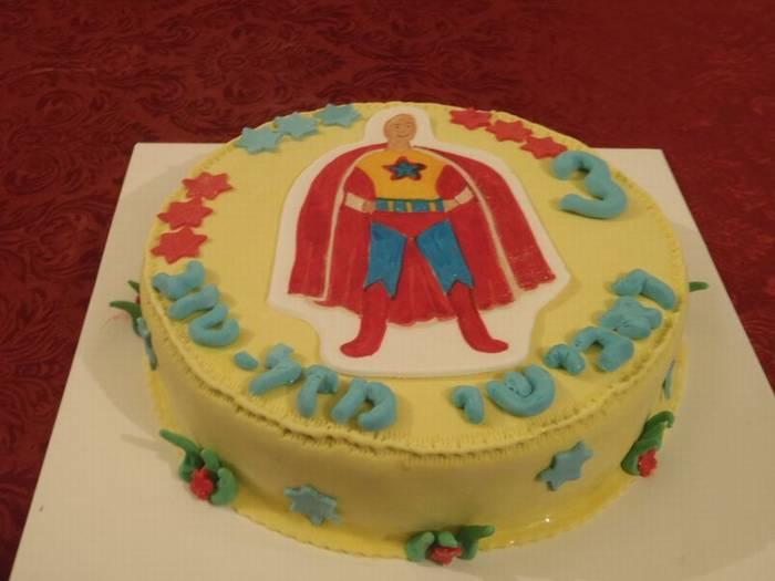 עוגה ליום הולדת יובל המבולבל