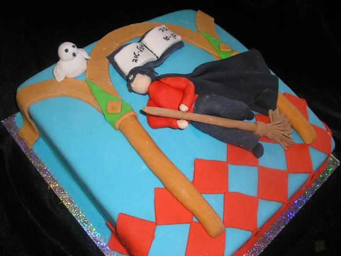 עוגה ליום הולדת לבנים הארי פוטר