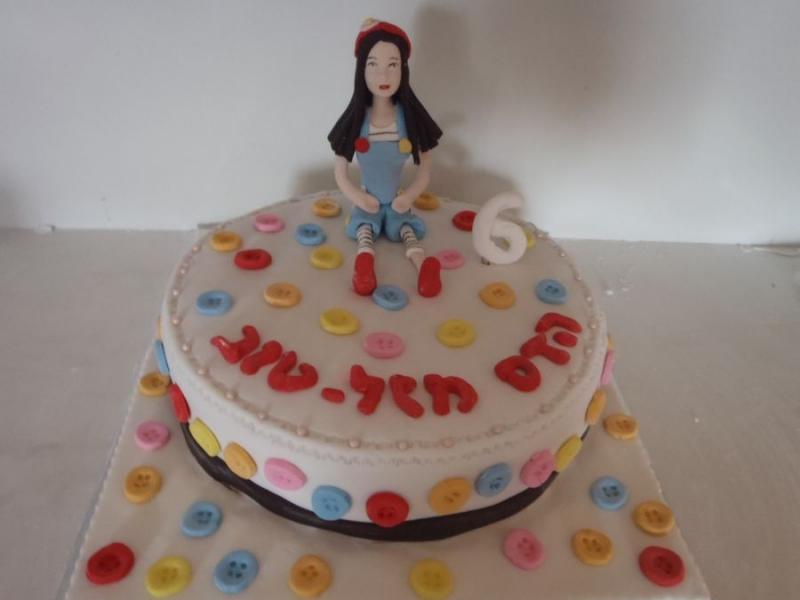 עוגה ליום הולדת מיקי ופונץ מפוסלת