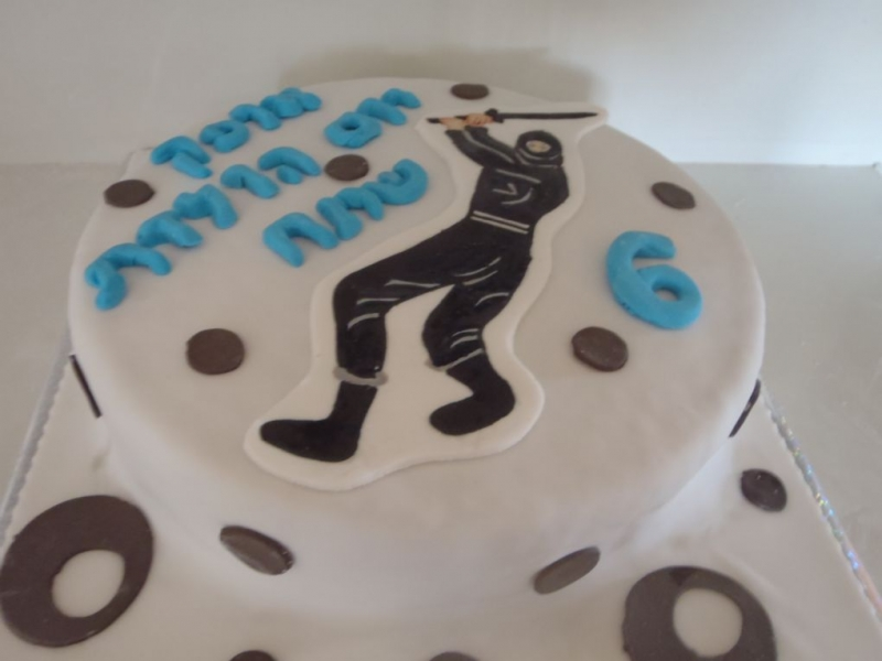עוגה ליום הולדת נינגה בנים