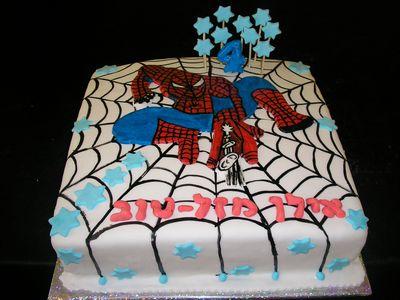 עוגה ליומולדת לבן ספיידרמן