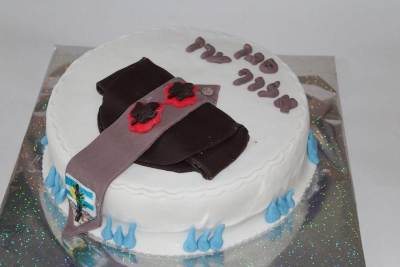 עוגה לקבלת סגן