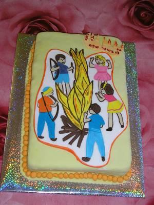 עוגה ל לג בעומר
