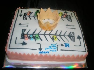 עוגה ל מלך החניונים