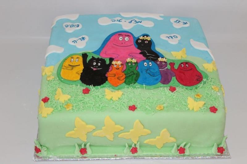 עוגת ברבאבא מעוצבת