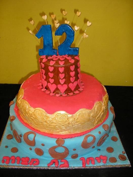 עוגת בת מצווה לליחן המקסימה