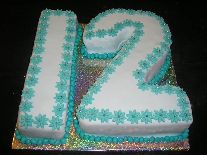 עוגת בת מצווה מספר