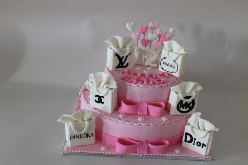 עוגת בת מצווה תיקי מותגים שופינג