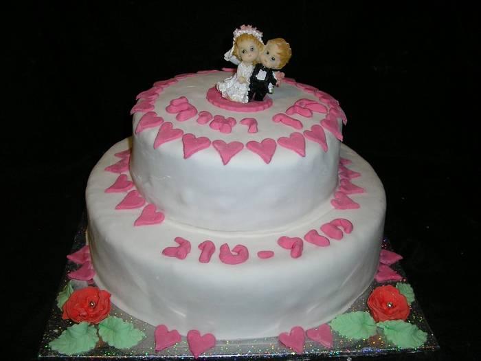 עוגת חתונה מזל טוב לקרן ואיתי