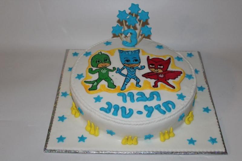 עוגת יום הולדת כוח פי גי