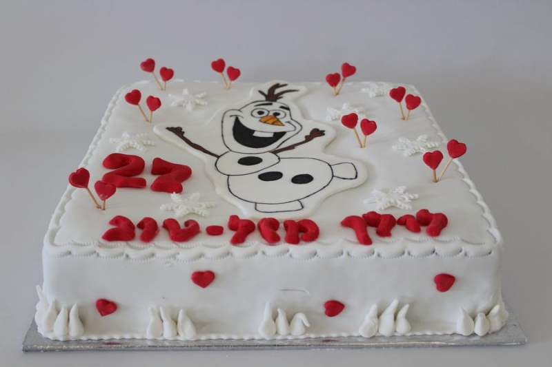 עוגת יום הולדת ללא גלוטן אולף מלשבור את הקרח