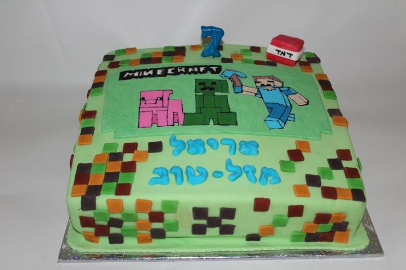 עוגת יום הולדת מיי קרפט