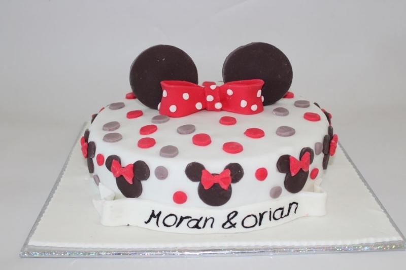 עוגת יום הולדת מיני מאוס