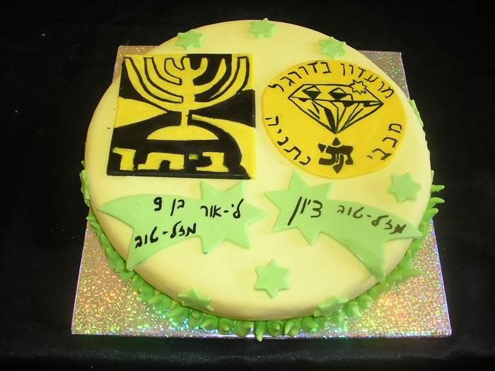עוגת יום הולדת מכבי נתניה ביתר ירושליים