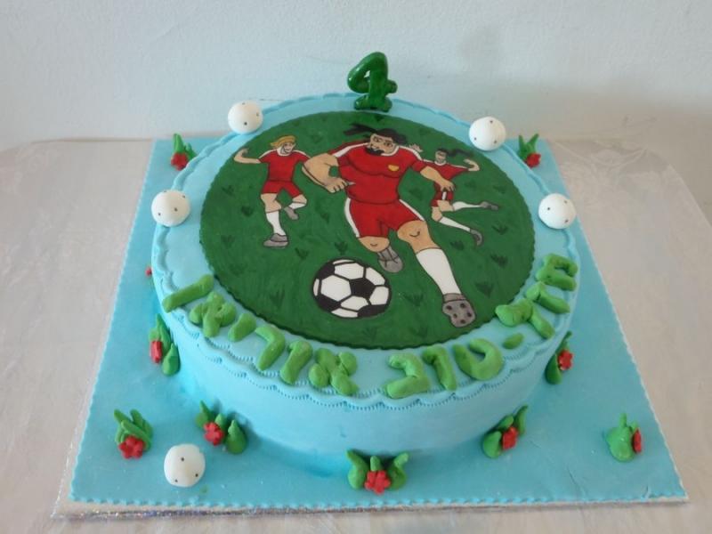עוגת יום הולדת מעוצבת סופר סטרייקה