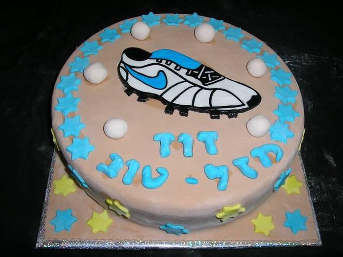 עוגת יום הולדת נעל נייק כדורסל