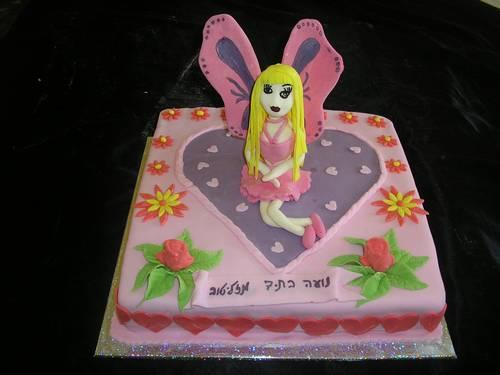 עוגת יום הולדת פייה
