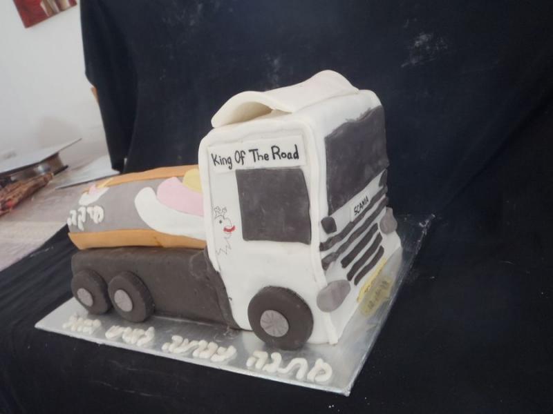 עוגת משאית