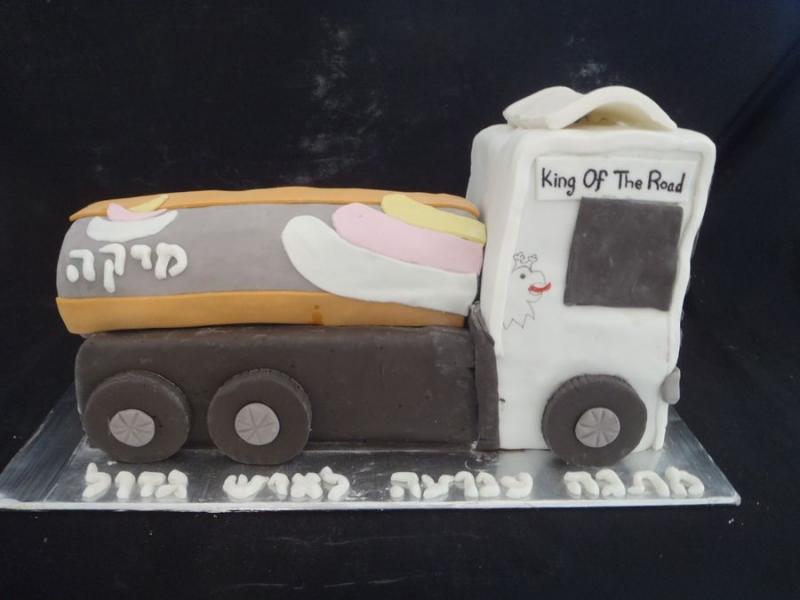 עוגת משאית2